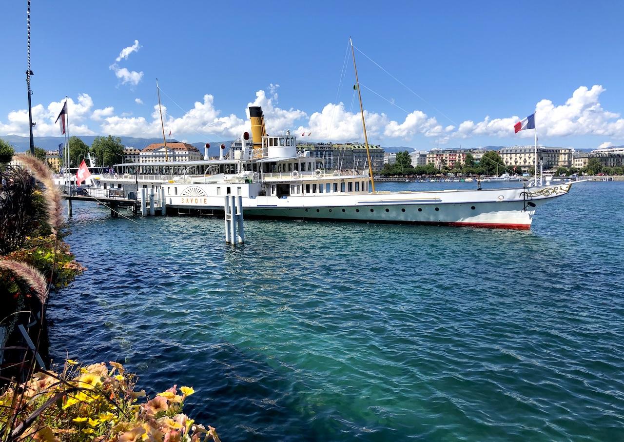 Lac Léman, Genève