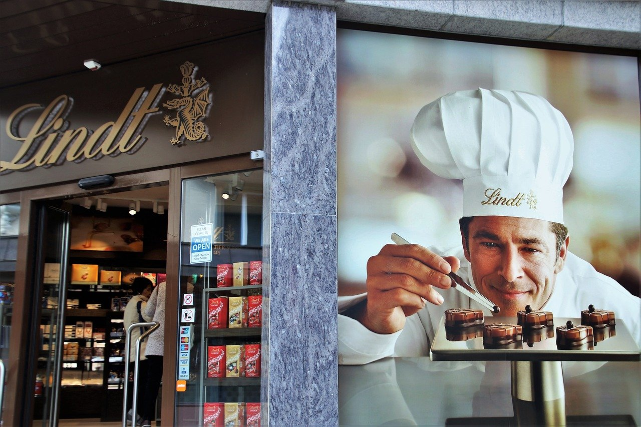 Lausanne, chocolat suisse